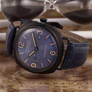 上質 大人気!2020パネライ  PANERAI 3針クロノグラフ 日付表示 腕時計(hiibuy.com 4TbGbe)-3