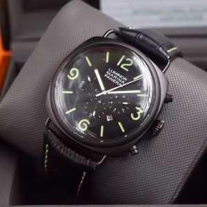 欧米韓流/雑誌 2020  パネライ PANERAI 6針クロノグラフ 日付表示 腕時計(hiibuy.com CK95Tv)-3