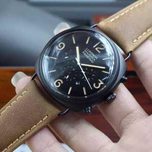 人気が爆発 2020  パネライ PANERAI 6針クロノグラフ 日付表示 腕時計(hiibuy.com reK5ru)-3