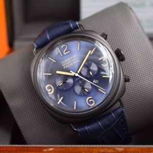 個性派2020  パネライ PANERAI 6針クロノグラフ 日付表示 腕時計(hiibuy.com 9fmKjq)-3