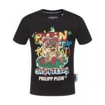 大人の余裕感を演出できる今夏新作  フィリッププレ快適な履き心地 PHILIPP PLEIN  人気モデルの2020夏季新作 半袖Tシャツ(hiibuy.com nmS1DC)-1