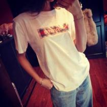 2020SSのトレンド商品 おしゃれデザインも大人気 シュプリーム SUPREME 半袖Tシャツ 3色可選(hiibuy.com C81nuC)-1