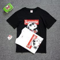 SUPREME 半袖Tシャツ 2色可選 《2020年》今、注目のストリート 快適な着心地 シュプリーム(hiibuy.com jeuGri)-1