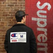 シュプリーム SUPREME ブルゾン 3色可選 Supreme Champion Label Coaches Jacket ファッションの最先端!(hiibuy.com SfW9ry)-1