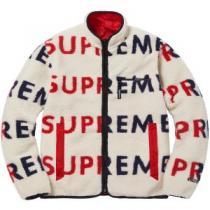 Jacket シュプリーム SUPREME ブルゾン 3色可選 Supreme 18FW Reversible Logo Fleece 今年人気定番(hiibuy.com vObiyq)-1