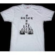 違和感がないシュプリーム  ブラックサバスクロス 夏らしい涼しげなTシャツホワイト .(hiibuy.com Gzu8ni)-1