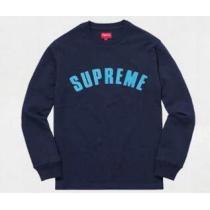 伸縮性が抜群な supreme コピー 通販  オシャレ度が高いTシャツ ネイビー.(hiibuy.com 41nKza)-1
