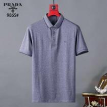 プラダ海外でも大人気 3色可選  PRADA 日本未入荷カラー 半袖Tシャツ 注目を集めてる(hiibuy.com eqiSnC)-1