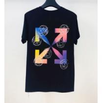 新作が見逃せない 2色可選 半袖Tシャツ 限定色がお目見え Off-White オフホワイト 一目惚れ級に(hiibuy.com 5nuKTD)-1