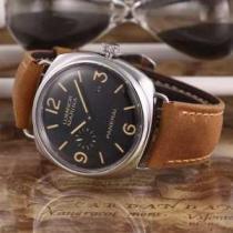 上質 大人気!2020  パネライ PANERAI3針クロノグラフ 日付表示 腕時計(hiibuy.com uK1PLr)-1