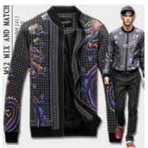 2020秋冬 通気性と速乾性に優れた  Dolce&Gabbana ドルチェ&ガッバーナ スタンド ブルゾン(hiibuy.com DK5r0r)-1