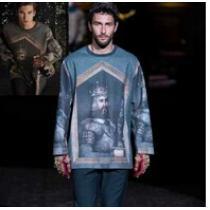 見た目 2020秋冬 Dolce&Gabbana ドルチェ&ガッバーナ 注目 プルオーバーパーカー(hiibuy.com OPLfWD)-1
