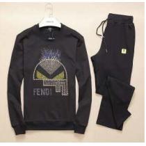 シンプルなデザイン  2020 FENDI フェンディ ジャージセット 3色可選(hiibuy.com nSr0fy)-1