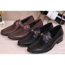 バーゲンセール  2020 GUCCI グッチ ビジネスシューズ レザーシューズ靴 2色可選(hiibuy.com yKziSv)-1