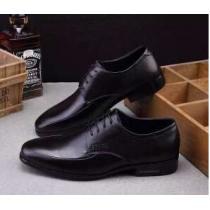 通気性が大変良い  2020 PRADA プラダ 軽量で疲れにくい レザーシューズ靴 2色可選(hiibuy.com TPvC4n)-1